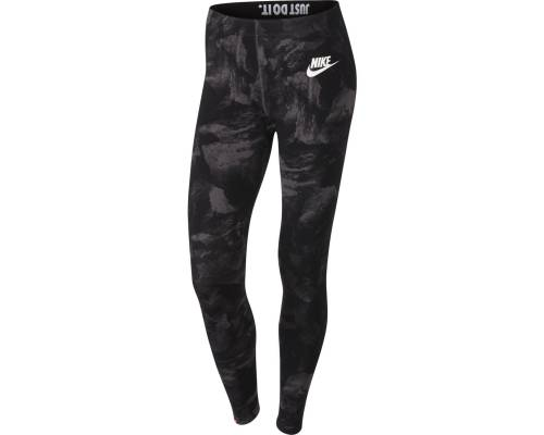 Collants Nike Nsw Glacier Noir / Gris