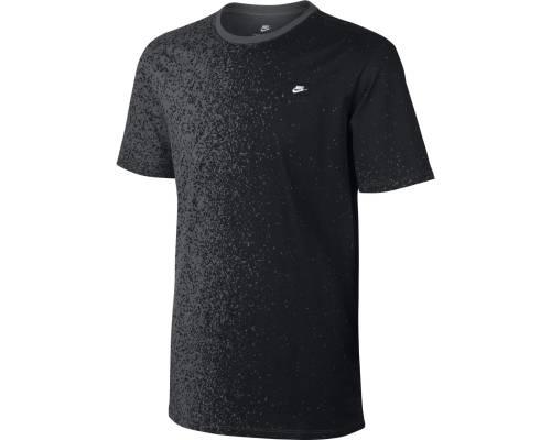 T-shirt Nike Nsw Modern Print Noir / Gris
