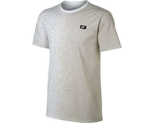 T-shirt Nike Nsw Modern Print Blanc / Beige