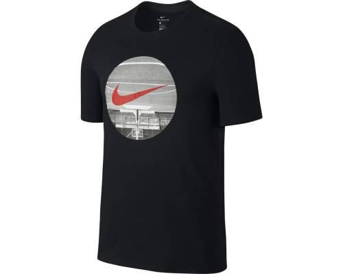 T-shirt Nike Upside Down Court Noir