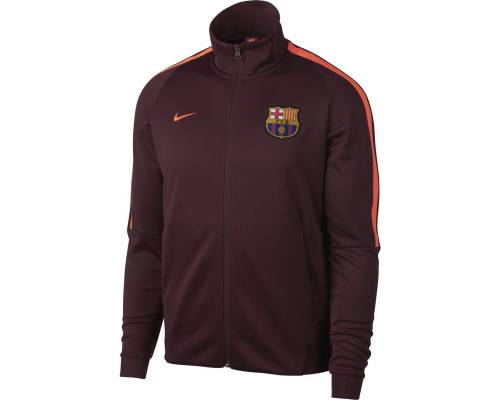 Veste Nike Barcelone Auth Cup 2017-18 Maroon
