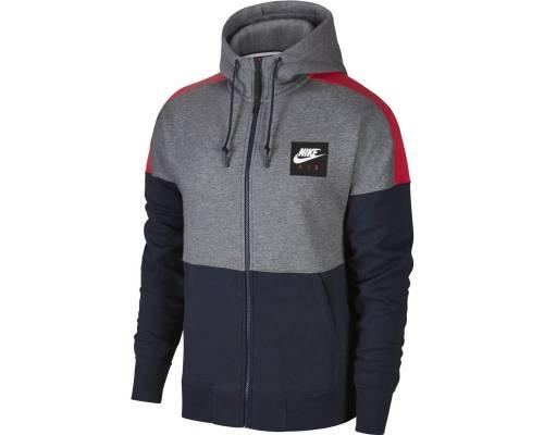 Veste Nike Sportswear Hoodie Air Gris / Bleu