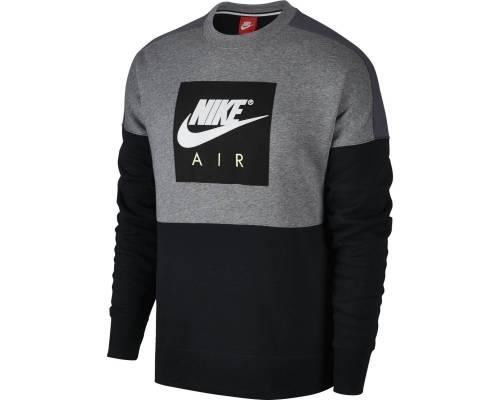 Sweat Nike Sportswear Crew Air Gris / Noir