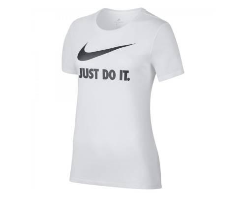 T-shirt Nike Just Do It Swoosh Blanc / Noir