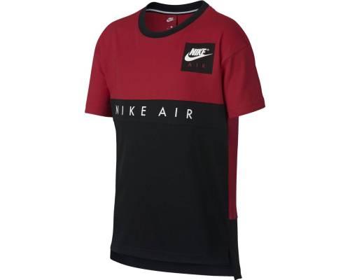 T-shirt Nike Air Rouge / Noir