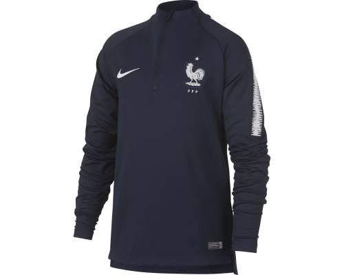 Training top Nike France Drill Squad Bleu