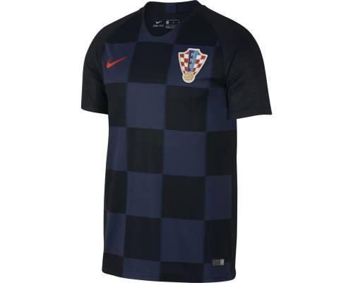 Maillot Nike Croatie Exterieur Noir / Bleu