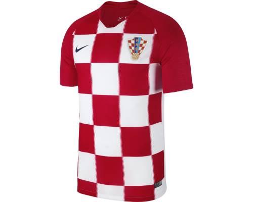 Maillot Nike Croatie Domicile Rouge / Blanc