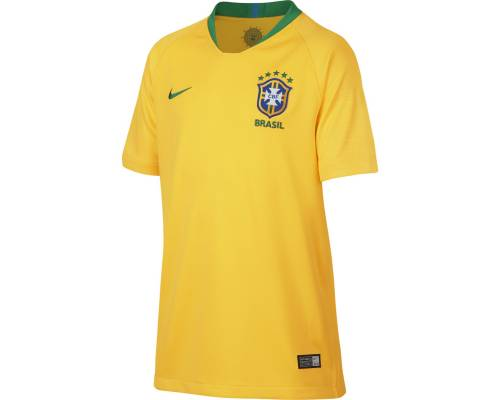 Maillot Nike Bresil Domicile Jaune