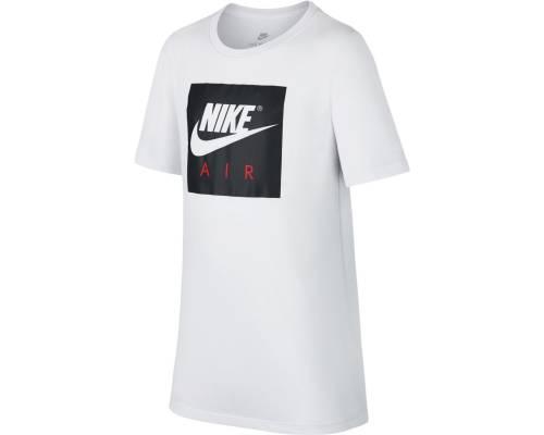 T-shirt Nike Air Logo Blanc