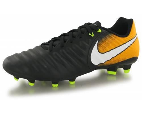 Nike Tiempo Ligera Iv Fg Noir / Orange