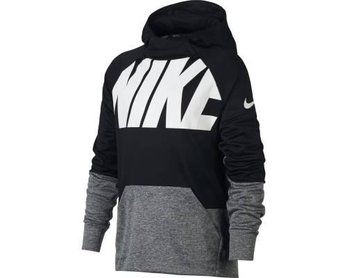 Sweat Nike Therma Noir / Gris