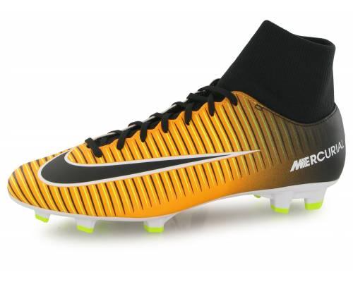 Nike Mercurial Victory Vi Df Fg Orange / Noir