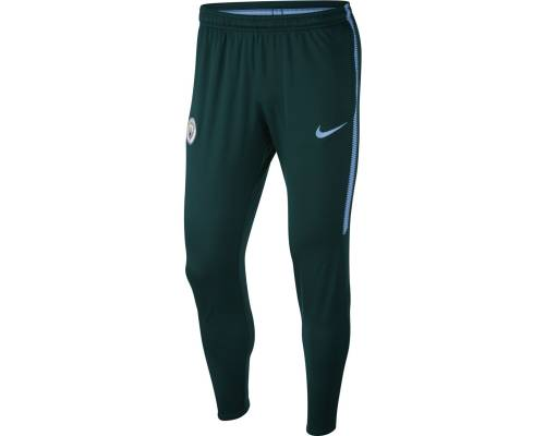 Pantalon Nike Manchester City 2017-18 Vert / Bleu