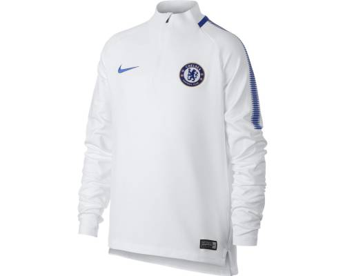 Training top Nike Chelsea 2017-18 Blanc / Bleu