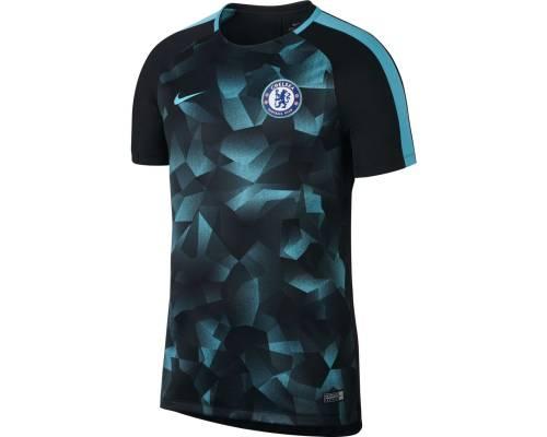 Maillot Nike Chelsea Training 2017-18 Noir / Bleu