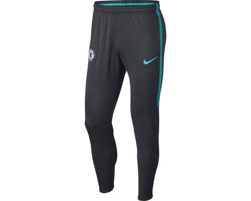 Pantalon Nike Chealsea Dry Kpz 2017-18 Anthracite / Bleu