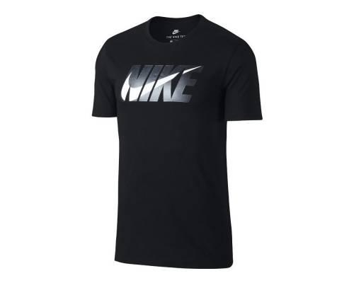 T-shirt Nike Big Logo Metal Noir