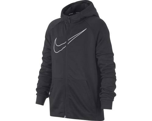 Veste Nike Dry Hoodie Gris Junior