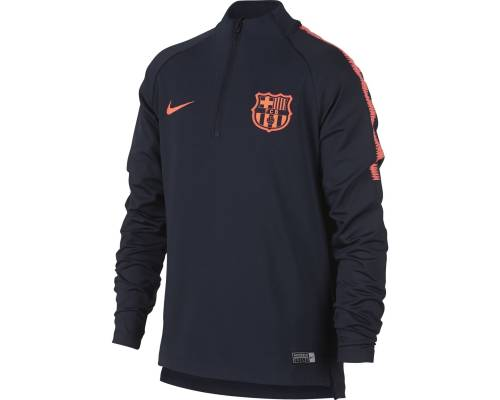 Training top Nike Barcelone 2017-18 Obsidienne / Cramoisi