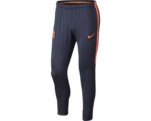 Pantalon Nike Barcelone Dry Squad Kpz 2017-18 Obsidienne / Cramoisi