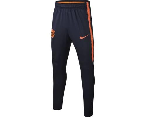 Pantalon Nike Barcelone Dri-fit Squad 2017-18 Obsidienne / Cramoisi