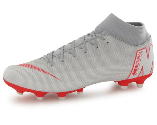 Nike Superply 6 Academy Mg Gris / Rouge