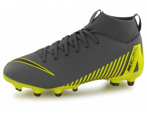 Nike Superply 6 Academy Mg Gris / Jaune