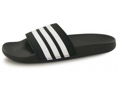 Claquettes Adidas Adilette Comfort Noir / Blanc