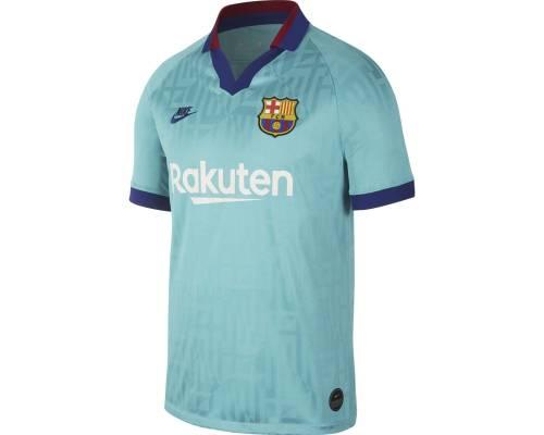 Maillot Nike Barcelone Third 2019-20 Bleu Vert