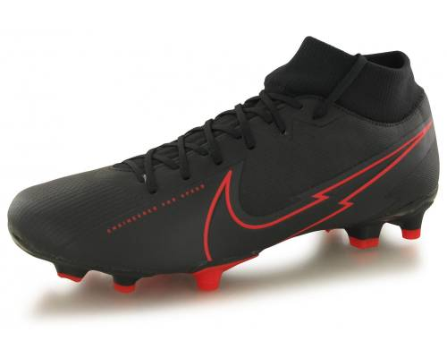 Nike Superfly 7 Academy Fg/mg Noir / Rouge