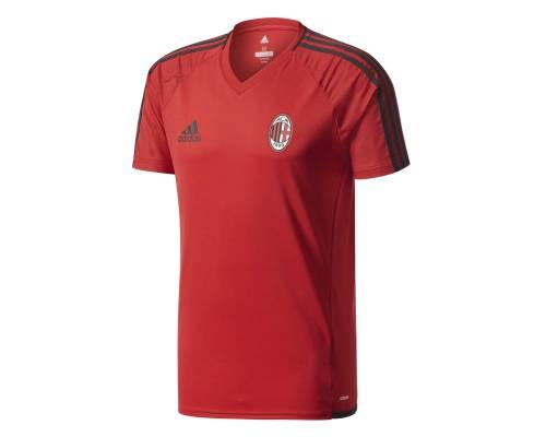 Maillot Adidas Milan Ac Training 2017-18 Rouge / Noir