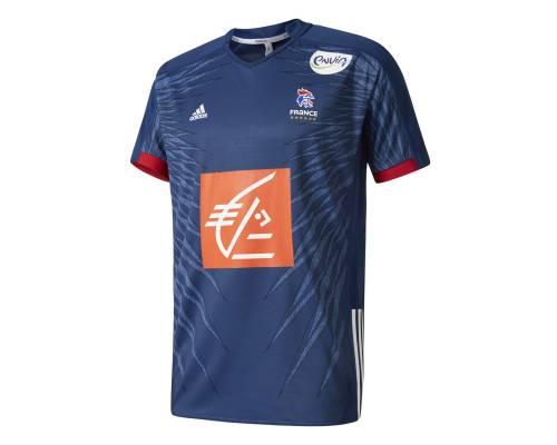 Maillot Adidas France Handball Bleu