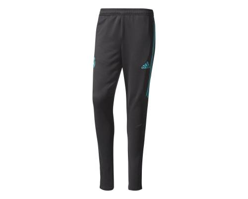 Pantalon Adidas Real Madrid Training 2017-18 Noir / Vert