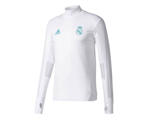 Training top Adidas Real Madrid 2017-18 Blanc