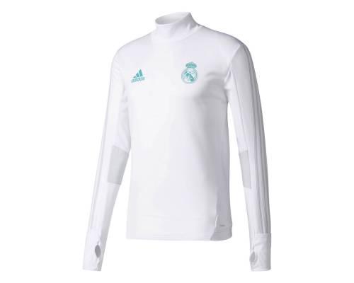 Training top Adidas Real Madrid 2017-18 Blanc