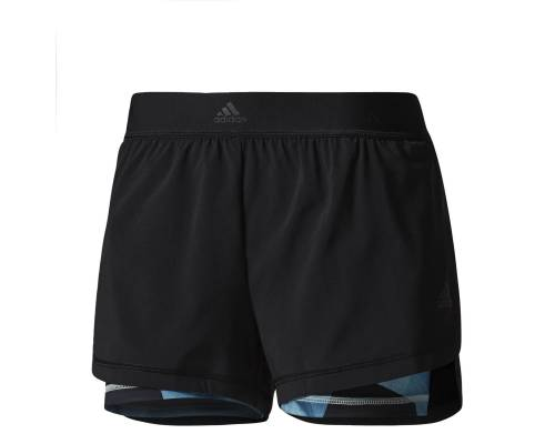 Short Adidas 2in1 Aop Noir