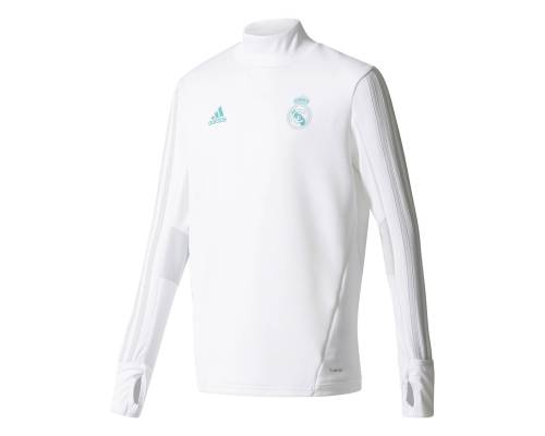 Training top Adidas Real Madrid 2017-18 Blanc / Vert