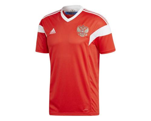 Maillot Adidas Russie Domicile Rouge