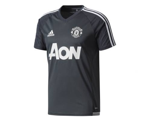 Maillot Adidas Manchester United Training 2017-18 Noir