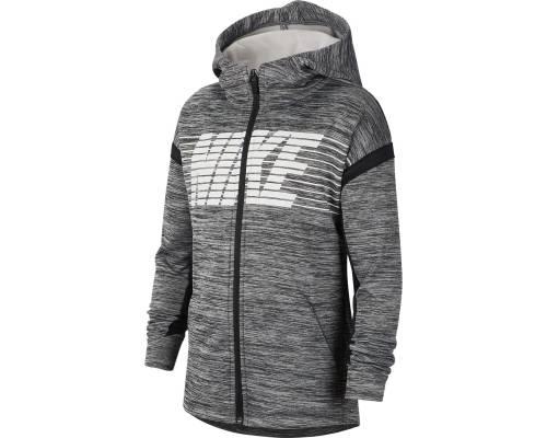 Veste Nike Therma Gris / Noir Junior
