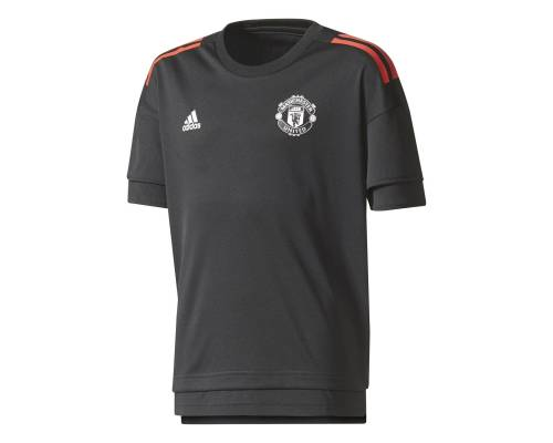 Maillot Adidas Manchester United Training 2017-18 Noir / Rouge
