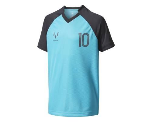 T-shirt Adidas Messi Icon Bleu / Noir