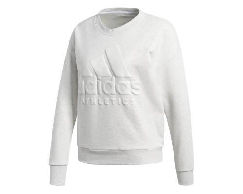 Sweat Adidas Sport Id Blanc Melange