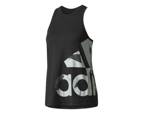 Débardeur Adidas Adi Aop Noir / Argent