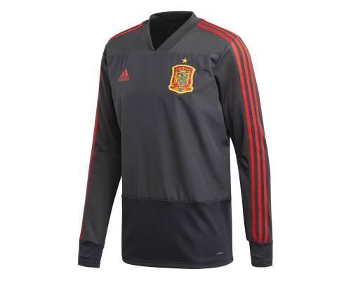 Training top Adidas Espagne Gris / Rouge