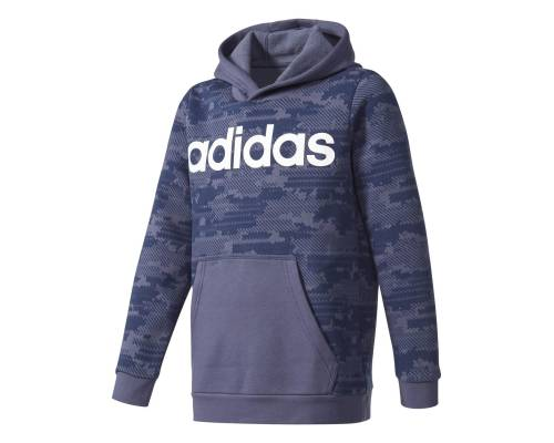 Sweat Adidas Linear Hd Bleu