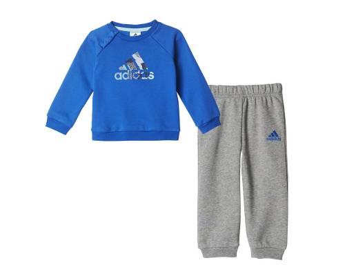 Survêtement Adidas Bb Sp Logo Jogger Bleu / Gris