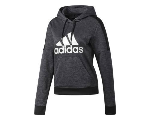 Sweat Adidas Flc Po Logo Noir