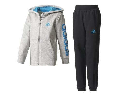 Survêtement Adidas Hojo Gris / Bleu / Noir